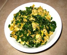 Scrambled Eggs A La Moringa
