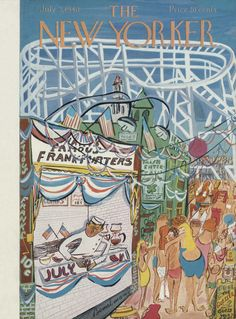 Ludwig Bemelmans : Cover art for The New Yorker 1220 - 3 July 1948