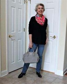 """e3c4a76024ce8 Susan Street on Instagram  """"I still have two pairs of slightly faded jeans  for very casual times. Love my Levis!"""