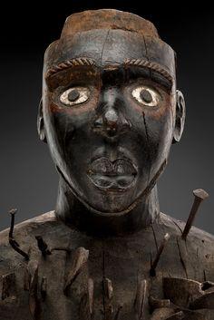 Le « grand fétiche à clous de James Hooper » KONGO/ YOMBE