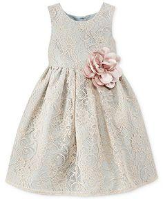 Marmellata Little Girls' Mint Lace Dress - Kids Dresses & Dresswear - Macy's