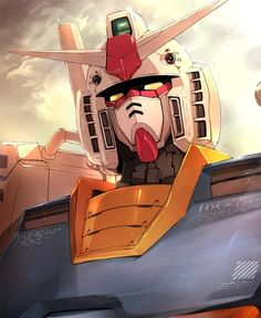 Gundam - why giant robots still give me the warm fuzzies Arte Gundam, Gundam Art, Gundam Head, Robot Cartoon, Gundam Wallpapers, Arte Robot, Science Fiction, Sci Fi Armor, Mecha Anime