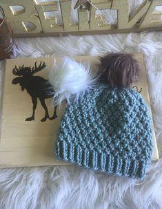 The Seed Stitch Knit Hat - The Northern Moose ~ die strickmütze mit samenstich - der nordelch ~ chapeau en tricot the seed stitch - the northern moose Beanie Knitting Patterns Free, Crochet Beanie Pattern, Mittens Pattern, Knit Or Crochet, Loom Knitting, Free Knitting, Baby Knitting, Crochet Patterns, Crochet Hats