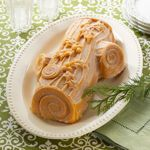 Nordic Ware® Yule Log Bundt Pan with Apple Spice Bundt Cake Mix