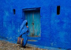 Tucked in the north of Morocco, there is a small town called Chefchaouen. This unusual place can be safely called a 'blue dream,' since the old part of it is filled with buildings painted in all shades of blue — from baby blue to aquamarine