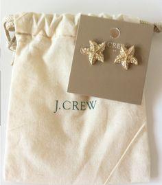 fashion, starfish earring, cloth, style, accessori, starfish stud, jcrew, jewelri, earrings
