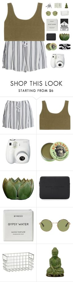 """""""SOULFREE"""" by expresng ❤ liked on Polyvore featuring WithChic, adidas Originals, Fujifilm, Burt's Bees, Marc Jacobs, Byredo, Yves Saint Laurent, Crate and Barrel, Urban Trends Collection and adidas"""