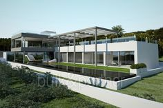 Modern luxury villa with sea views for sale in Santa Ponsa - ID 5500552 - Real estate is our passion… www.bulk-partner.com