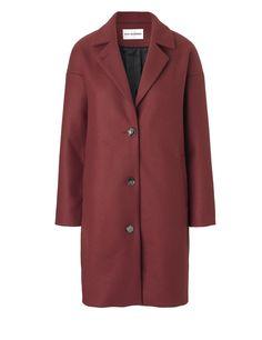 Key Wool Jacket, Russet Brown | Won Hundred
