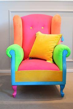 Neon armchair