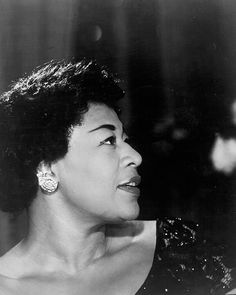 Ella Fitzgerald in the late 1950s.