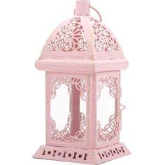 Two Tone Lantern – Shabby Chic Marketplace Pink Lanterns, Shabby Chic Pink, Street Lamp, Pretty In Pink, Gazebo, Candle Holders, Pastel, Ebay, Shopping