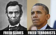 LINCOLN VS. OBAMA: One Freed Slaves and The Other Freed