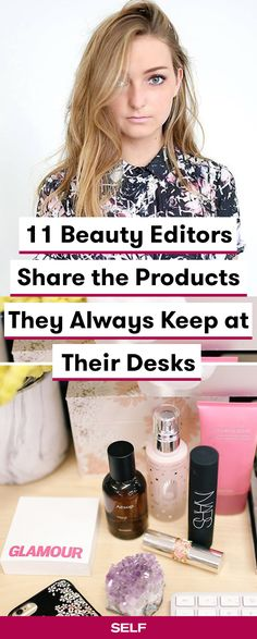 These beauty and skin care products are editor-approved! We talked to editors at Glamour, Marie Claire, Bustle, and more about their beauty routines and products that they absolutely have to keep in their bags—like moisturizers, tinted lip balms, concealers, fragrances, and more!