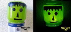 DIY Halloween : DIY Halloween Night Light