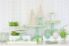 My Little Party Blog. Inspiración para Fiestas: Color Verde