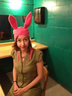 Kristen Schaal As A Real-Life Louise From Bobs Burgers Might Be The Best Pic Ever