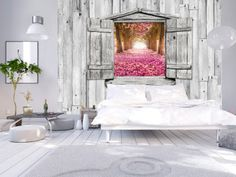 Wall mural The Magical Gateway - high quality, modern photo wallpapers. Optically magnifying interior best wallpapers are the latest interior design trend! Furniture, Home Decor Inspiration, Interior, Furniture Decor, Ingrain Wallpaper, Trendy Decor, New Homes, Home Decor, Latest Interior Design Trends