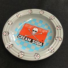 ★当時物★ CREAM SODA クリームソーダ 灰皿 ロカビリー ペパーミント_画像1
