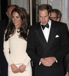 The Duke and Dutchess of Cambridge are seen leaving from the 'Claridges' Ballroom in London, May 8, 2012.