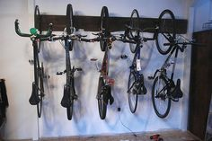 Wall Bike Rack | Flickr - Photo Sharing!