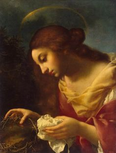 Carlo Dolci - St Mary Magdalene, tra il 1644 e il Museo dell'Ermitage Catholic Quotes, Catholic Art, Catholic Saints, Roman Catholic, Religious Art, Religious Paintings, Noli Me Tangere, Religion, Maria Magdalena