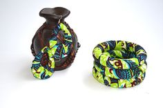 Holiday Party Jewelry African Ankara Bangles And by ZabbaDesigns, $25.00