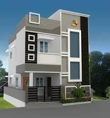 New House Front Elevation Design Indian Ideas House Front Wall Design, Single Floor House Design, Duplex House Plans, Bungalow House Design, Modern House Plans, Modern House Design, House Wall, Front Elevation Designs, House Elevation