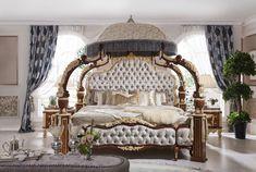 Italiano/rococó francés muebles de dormitorio de lujo, ropa Dubai muebles de dormitorio de lujo de