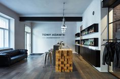 Tony Adam's Barbershop in Prague by OOOOX