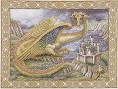 Gallery.ru / Фото #6 - дракон на фоне замка - muha-cc