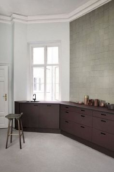 Kitchen Cabinet Colors That Unexpectedly Work | White kitchens are definitely a trend in American decor, but internationally, colorful kitchens and painted cabinets are way more common. From blues to purples, bright kitchen decor is an interesting way to makeover your space.
