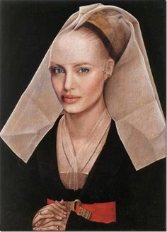 If today's celebrities were living in the Renaissance... #angelinajolie