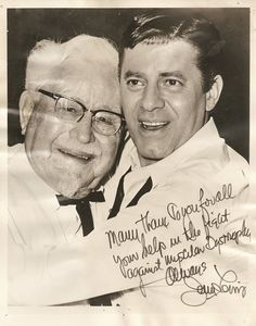 The Colonel and Jerry Lewis