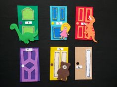 Adapt this beloved dinosaur storytime staple and build important early math skills, including spatial vocabulary, shape and number recognition! FREE pattern template and bonus take-home activity for families included! Early Math, Early Literacy, Make A Dinosaur, Paper Bag Puppets, Math Talk, Felt Stories, Flannel Friday, Little Girl Names, Flannel Boards