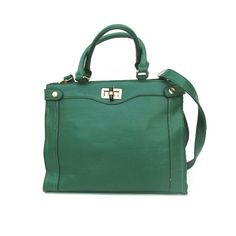 Gorgeous Green Hand Bag Length is 13.75 inches, Width is 5 inches & height is 11 inches. I offer bundle discounts! Bags Shoulder Bags