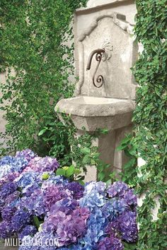 My inner landscape Gravel Garden, Water Garden, Love Garden, Dream Garden, Beautiful Home Gardens, Garden Fountains, Wall Fountains, Water Features In The Garden, Garden Pictures