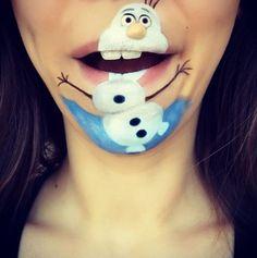 Olaf uit 'Frozen' <span> - © Instagram</span>