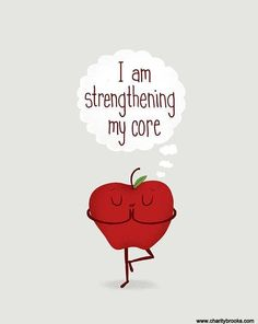 Strengthen your core!  #healthychoices #exercise #WeightLoss #lifestylechange #fitness