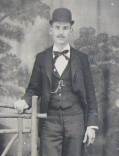 e755cd68131 Does This Hat Make My Ears Look Big - Original 1880 s Awkward Man Tintype  Photograph - Free Shipping