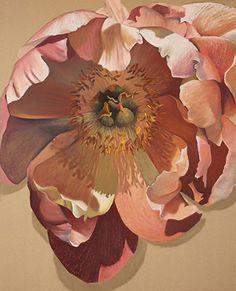 "Painted Petals by Debbie Graviss Pastel ~ 40"" x 32"""