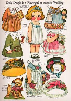 Бумажные куклы - Ольга Бесмертнова - Álbumes web de Picasa