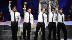 """""""Life With You"""" Tribute to George Donaldson ~ R.I.P George ~ Celtic Thunder ~ Keith, Colm, Ryan, Emmett and Neil  ♥♥"""