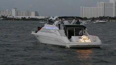 Magno desfile de barcos en Cancún Q. Roo