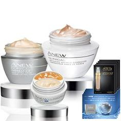 Anew Clinical 5-Piece Experts Collection get all that for only $45!  Get this deal and many more online at https://rfulkerson.avonrepresentative.com/ where there is ALWAYS #freeshipping on orders of $40 or more!