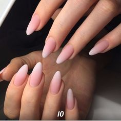 15 Stunning Minimalist Nail Art Ideas To Try – Light pink gradient nails nail inspo, nude nails, beautiful nails, … Gradient Nails, Cute Acrylic Nails, Nude Nails, Acrylic Nail Designs, Matte Nails, Nail Art Designs, Gel Nails, Ombre Nail, Nails Design