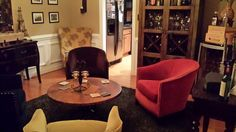 Converted our seldom used formal dining room into a lounge.