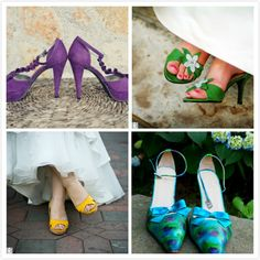 Why Are The Colored Wedding Shoes So Recommended?
