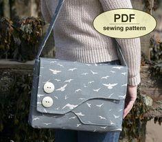Neu: Schnittmuster Brancaster Messenger Bag von charliesaunt