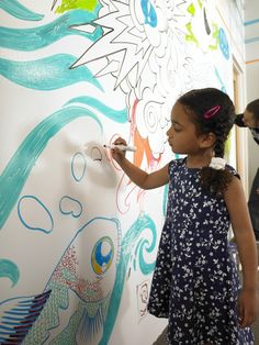 Idea paint turn any wall surface into a dry erase board...what!